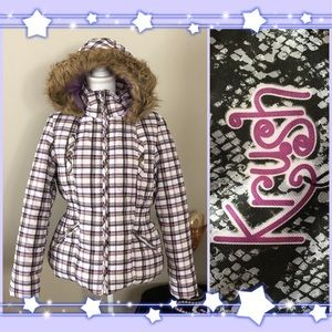 🆕🌟❗️NEW NBW KRUSH CHANNEL-QUILTED PUFFER COAT